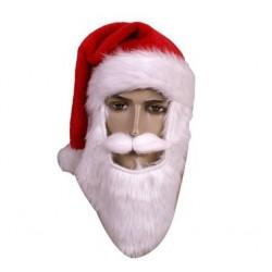 Czapka z brodą i wąsami...