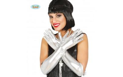 Rękawiczki srebrne...