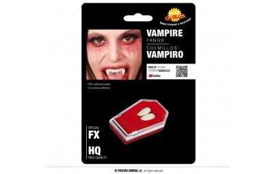 Kły wampira z klejem...