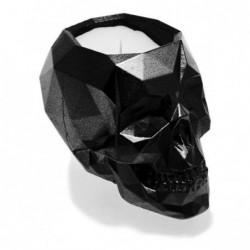 Świeca czaszka czarny...