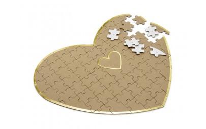 Księga gości puzzle-Serce...