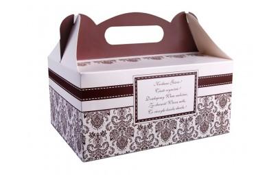 Pudełko ozdobne na ciasto...