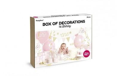 Zestaw dekoracji party-1st...