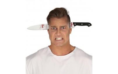 Opaska nóż w głowie 35cm