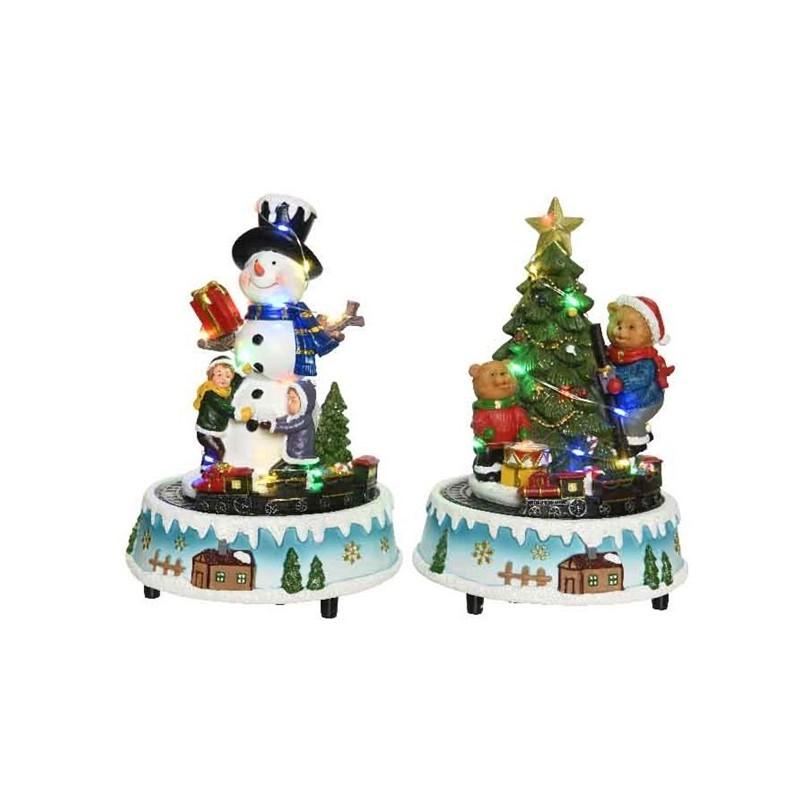 Figura led bożonarodzeniowa 15x22cm (multikolor)