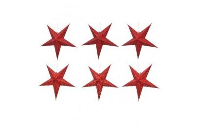Gwiazda led czerwona 60cm