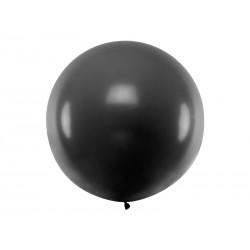 Balon 1M czarny pastel