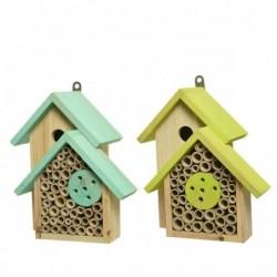 Domek dla ptaków i owadów...