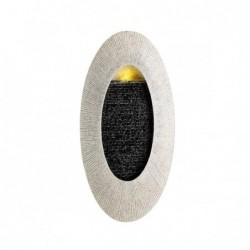 Fontanna owalna z podświetleniem LED 29x58x8,8cm