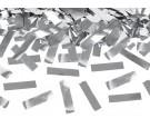 Tuba strzelająca srebrnym metalicznym konfetti 60cm