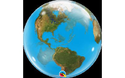 """Balon bubble 22"""" planeta"""