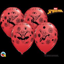 Balon 12 Spider Man 6 szt.