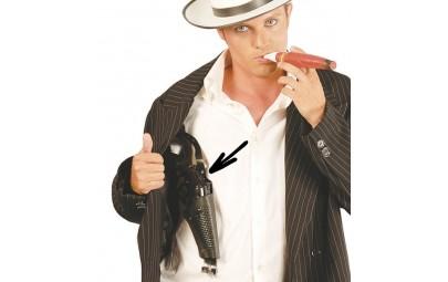 Pistolet z kaburą czarny