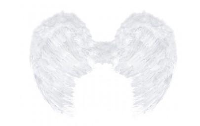 Skrzydła anioła białe 80x60cm