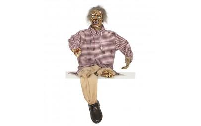Postać okaleczony zombie...