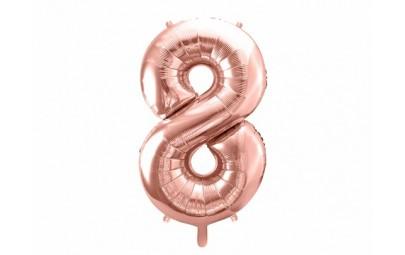 Balon foliowy 34 cyfra 8...