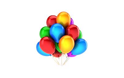 Balon D5 mix pastel 100 szt.