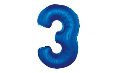 Balon foliowy cyfra 3...
