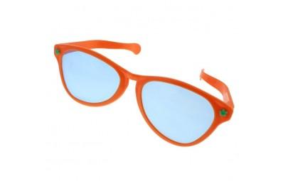 Okulary Jumbo pomarańczowe