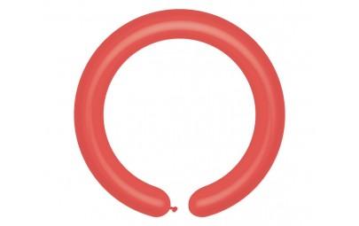 Balon D4 rurki włoskie czerwony 45 100szt