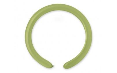 Balon D4 rurki włoskie zielony oliwkowy 100szt