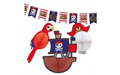 Zestaw dekoracyjny Mapa Piratów