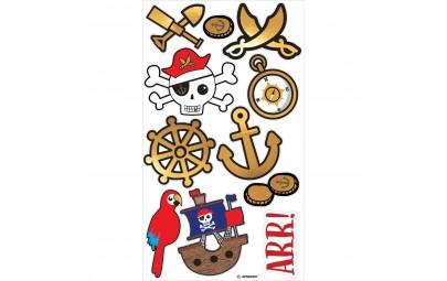 Tatuaże Mapa Piratów