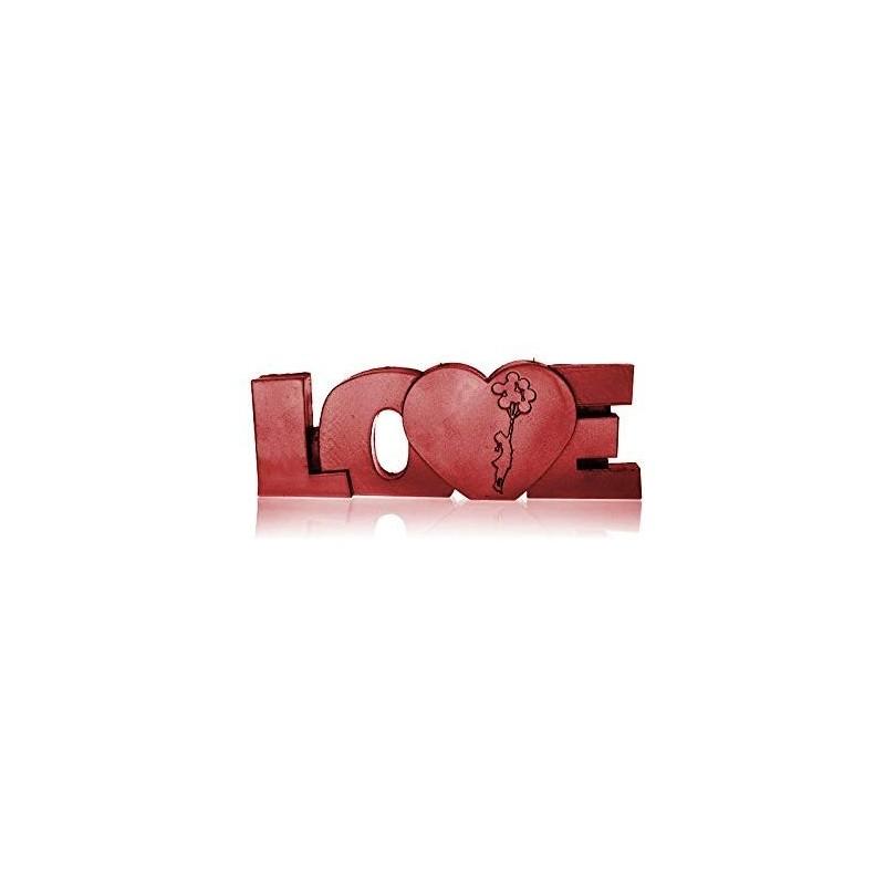 Świeca LOVE czerwona