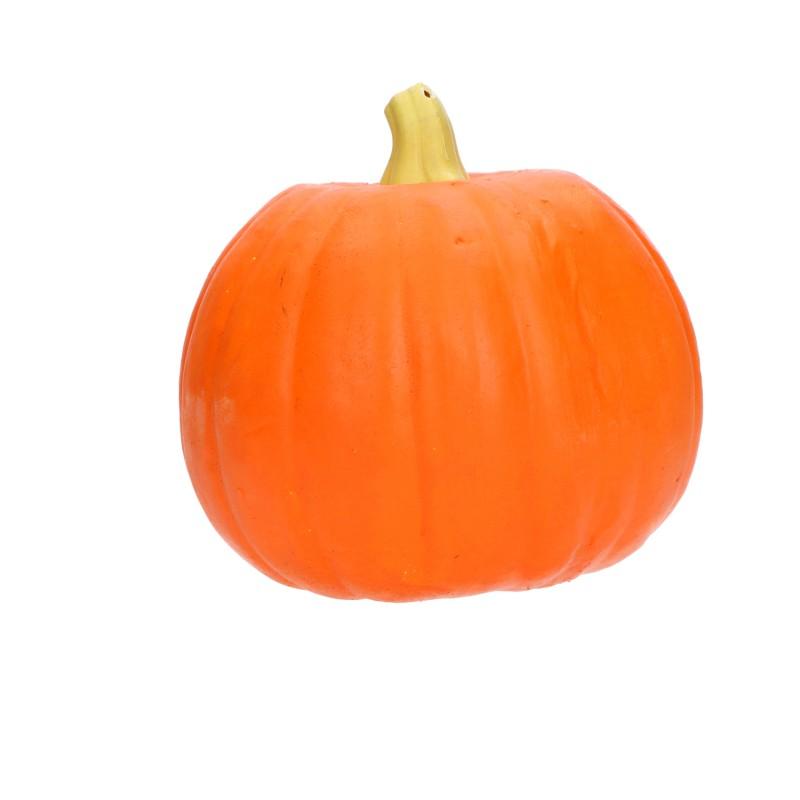 Podświetlamna ozdobna dynia piankowa dekoracja na halloween 16cm