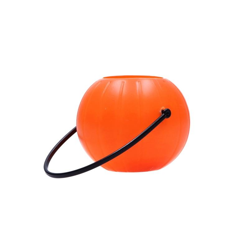 Wiaderko plastikowe pojemnik na słodycze przekąski na halloween Dynia 7cm