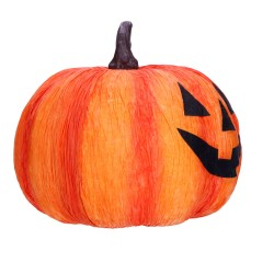 Dekoracja halloweenowa dynia ozdobna 20cm
