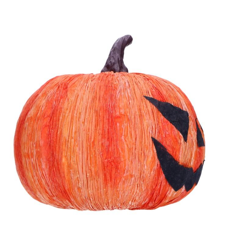 Ozdobna dynia halloweenowa dekoracja 16cm
