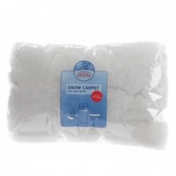 Śnieżny dywan biało-srebrny 250x100cm