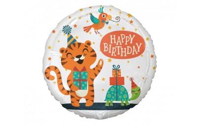 "Balon foliowy 18"" Tygrysek..."