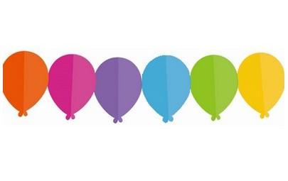 Girlanda papierowa Baloniki...
