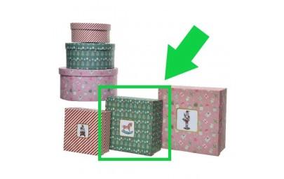 Pudełko ozdobne kwadratowe...