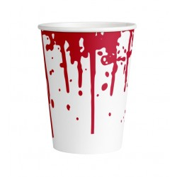 Kubek papierowy krwawy...