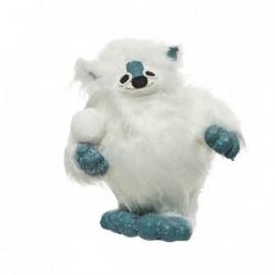 Yeti śnieżny potwór 20x23x29cm biały