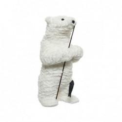 Miś polarny z wędką biały...