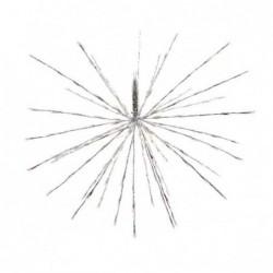 Gwiazda led zewnętrzna ciepły biały 45cm 72L