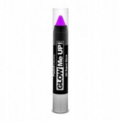 Kredka do makijażu UV neonowa fioletowa 3,5g