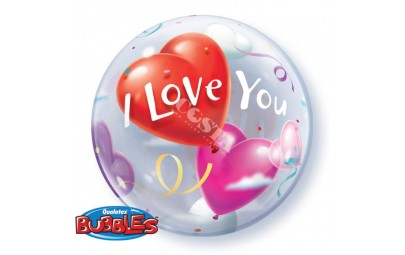 Balon 22 serce I Love You...