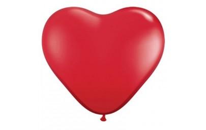 Balon 11 serce czerwone...