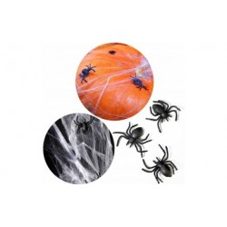 Sztuczne pająki plastikowe na halloween 10szt 3cm
