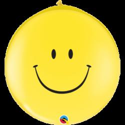 Balon 1M uśmiech żółty...
