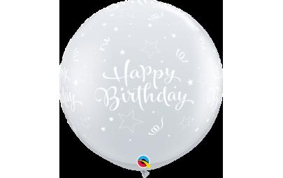 Balon 1M Happy Birthday...
