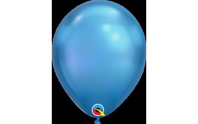 Balon 11 chrome blue -...