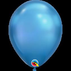 Balon 11 chrome blue - niebieski 25 szt.