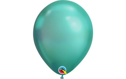 Balon 11 chrome green -...