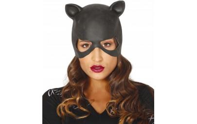 Maska kobieta kot winylowa